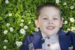 Счастливый мальчик Стоковое фото RF