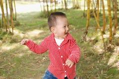 Счастливый мальчик Стоковые Изображения
