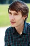 Счастливый молодой парень Стоковые Фото