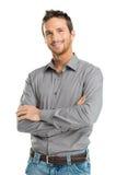 Счастливый молодой человек Стоковое фото RF