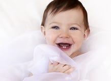 Счастливый младенец Стоковые Изображения RF