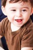 Счастливый младенец стоковое изображение rf