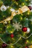 Счастливый Новый Год и веселое Christmass Стоковое Фото