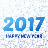 Счастливый новый 2016 год Приправляет приветствия, красочный сияющий дизайн также вектор иллюстрации притяжки corel Стоковое Изображение