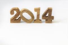 Счастливый Новый Год 2014 Стоковые Изображения RF