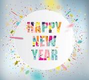 Счастливый Новый Год Стоковое фото RF
