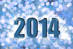 Счастливый Новый Год иллюстрация штока