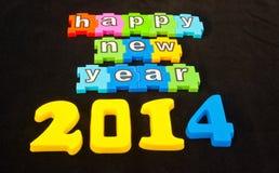 Счастливый Новый Год 2014 Стоковые Изображения