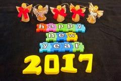 Счастливый Новый Год 2017 Стоковые Фотографии RF