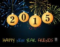 Счастливый Новый Год 2015 Стоковая Фотография
