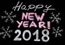Счастливый Новый Год 2018 Стоковые Фото
