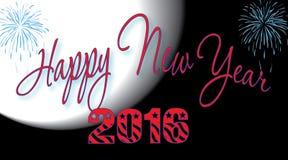 Счастливый Новый Год 2016 Стоковая Фотография
