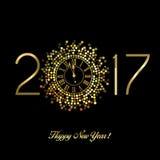 Счастливый Новый Год - 2017 Стоковое Фото