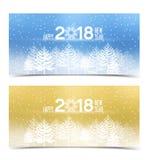 Счастливый Новый Год 2018 бесплатная иллюстрация