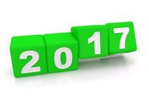Счастливый Новый Год 2017 Стоковые Фото
