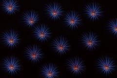 Счастливый Новый Год, backround фейерверков Стоковое Изображение