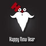 счастливый новый год santa Стоковое фото RF