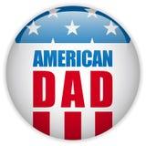 Счастливый папа американца США дня отцов иллюстрация штока