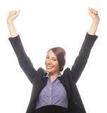 Счастливый победитель. стоковые изображения rf