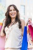 Счастливый покупатель Стоковые Фотографии RF