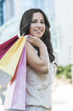 Счастливый покупатель Стоковая Фотография RF