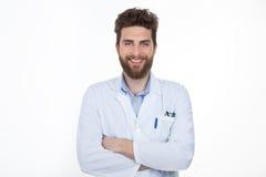 Счастливый практикующий врач здравоохранения стоковые фотографии rf