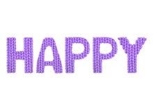 Счастливый Пурпур цвета Стоковые Изображения