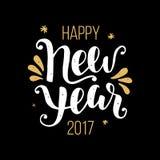 Счастливый плакат 2017 Нового Года Стоковое Фото