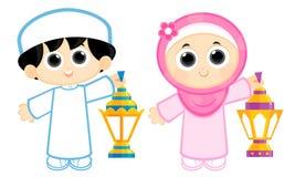 Счастливый Рамазан Стоковые Изображения