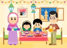 Счастливый Рамазан Стоковые Фото