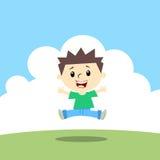 Счастливый ребенк Стоковая Фотография RF