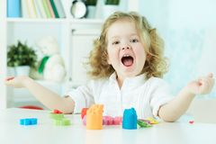 Счастливый ребенок Стоковое Изображение