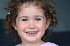 Счастливый ребенок smiley Стоковое Изображение
