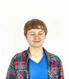 Счастливый дружелюбный подросток Стоковые Изображения