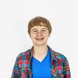 Счастливый дружелюбный подросток Стоковое Фото