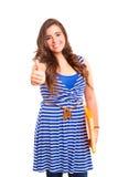 Счастливый студент Стоковые Фотографии RF
