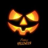 Счастливый фонарик хеллоуина Джека o Стоковые Изображения RF