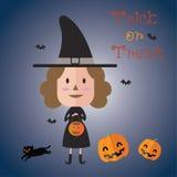 Счастливый формат хеллоуина eps10 Стоковая Фотография