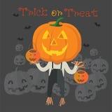 Счастливый формат хеллоуина eps10 Стоковые Фото