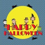 Счастливый формат хеллоуина eps10 Стоковые Изображения RF