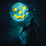 Счастливый хеллоуин. бесплатная иллюстрация