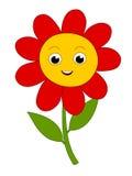 Счастливый цветок Стоковое Изображение RF