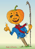 Счастливый цвет хеллоуина Стоковое фото RF
