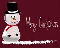 Счастливый человек снега Стоковые Изображения