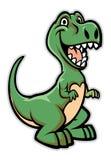 Счастливый шарж динозавра бесплатная иллюстрация