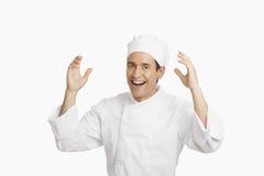 Счастливый шеф-повар Стоковые Фото