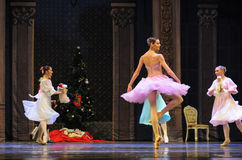 Счастливый Щелкунчик балета принцессы Клары- Стоковые Фотографии RF