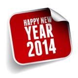 Счастливое Новый Год 2014 Стоковое Изображение