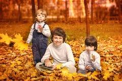 3 счастливых мальчика стоковое изображение