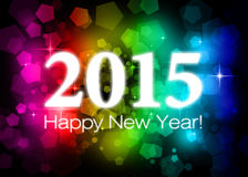 2015 счастливых Новых Годов Стоковые Фотографии RF